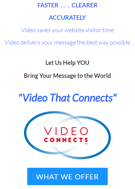 Good website brand can be see here at Video Connects