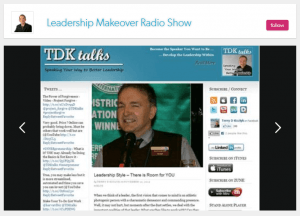 Terry Interviewed on Leadership Makeover Radio Show