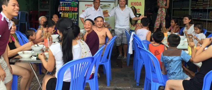 Some of the many local Vietnamese I was able to meet while on my volunteer mission in Vietnam